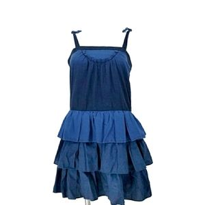 Marc by Marc Jacob Cotton Ruffle Dress Size 4